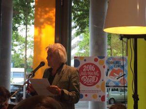 Jan Siebelink leest voor in de Bibliotheek Deventer