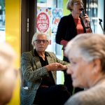 Jan & Gerda Siebelink tijdens de Nationale Voorleeslunch in Deventer (c) Rosa van Ederen